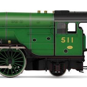 R3974 Hornby Thompson A2/3 4-6-2 Steam Loco number 511 Airborne