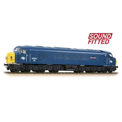 Class 45/0 Split Headcode 45060 'Sherwood Forester' BR Blue (Sound Fitted)