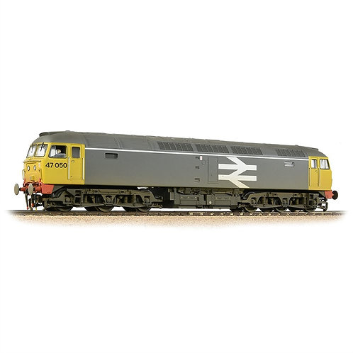 Bachmann 31-664DS Class 47/0 47050 in Railfreight grey - weathered - Sound
