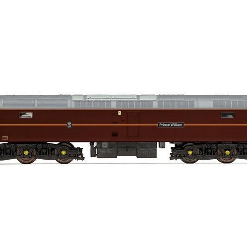 "Hornby R3757 Class 47/7 47798 ""Prince William"" in EWS Royal Train claret"