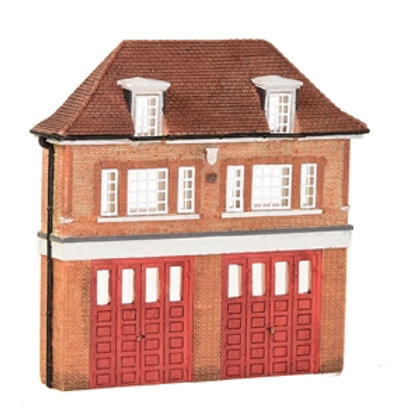 Low Relief Fire Station