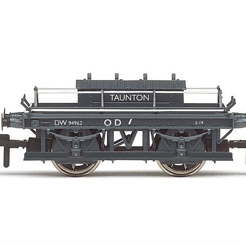 Hornby R6975 ex-GWR shunters truck DW94962 in BR grey (Taunton)