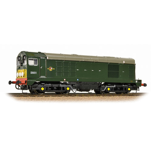 Bachmann Branchline 32-027B Class 20 D8011 in BR green with small yellow panels