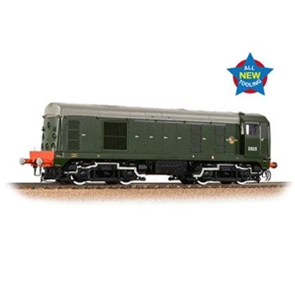 Class 20/0 Disc Headcode D8015 BR Green (Late Crest)