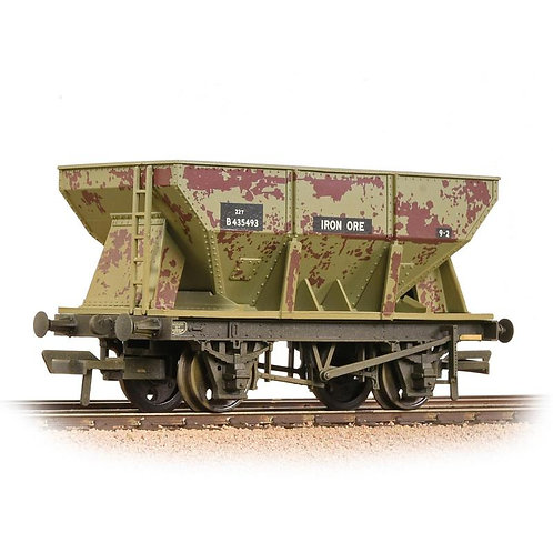 Bachmann Branchline 37-508A 24 ton ore hopper in BR grey - weathered