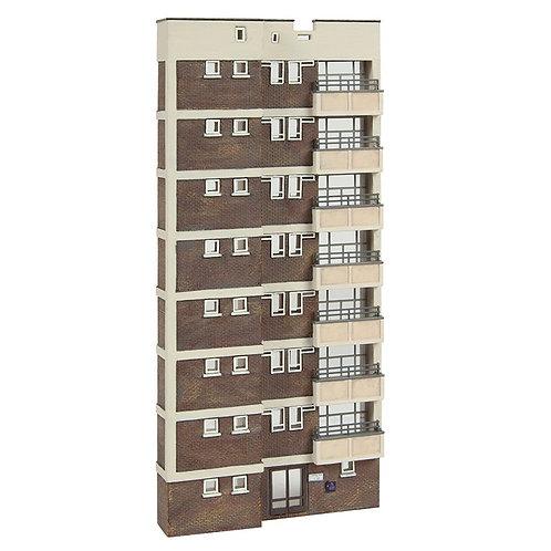 Scenecraft 42-265 Low relief block of flats (N Gauge)