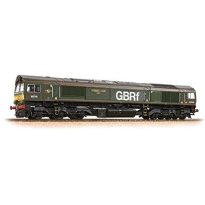 Class 66/7 66779 'Evening Star' GBRf Brunswick Green