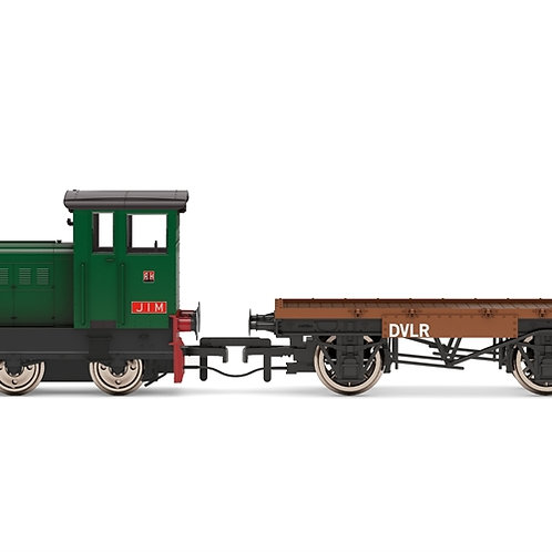 Hornby R3852 Ruston 48DS 417892 'Jim' in DVLR industrial green
