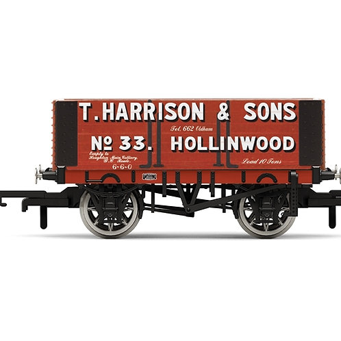 Hornby R6950 6-plank open wagon H.Harrison & Sons No. 33