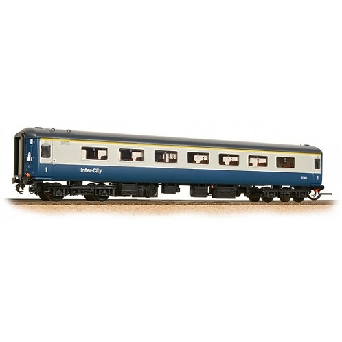 "Bachmann  39-650DC Mk2F ""Aircon"" FO in BR blue and grey with lights"