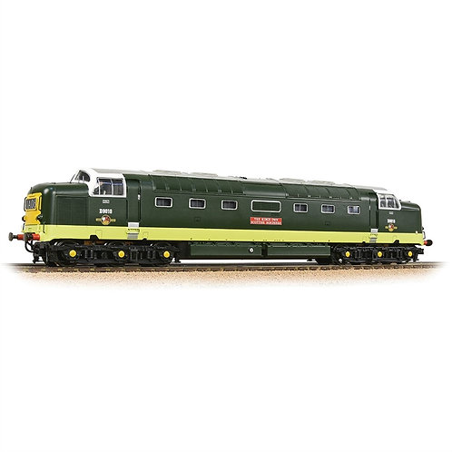 Bachmann 32-529CSF Class 55 Deltic D9010 BR Two Tone Green (DCC Sound)