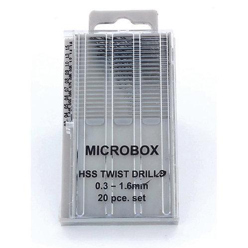 MM019 20 Piece Microbox Drill Set
