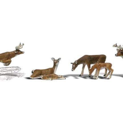 00 Gauge Figures Deer