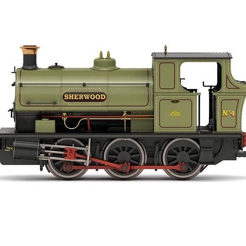 "Hornby R3693X Class B2 Peckett 0-6-0ST No.4 ""Sherwood"" Digital fitted"