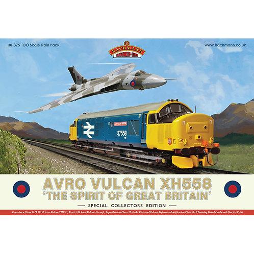 """Bachmann 30-375 Avro Vulcan Collector's Pack - Class 37/4 37558 """"Avro Vulcan"""""""