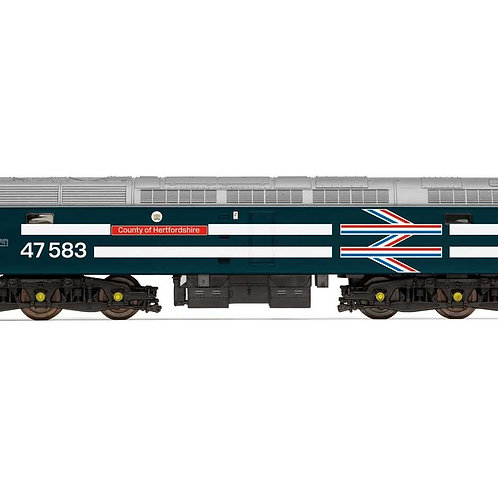 R30040TTS BR, Class 47, Co-Co, 47583 'County of Hertfordshire' - Era 7 TTS Sound