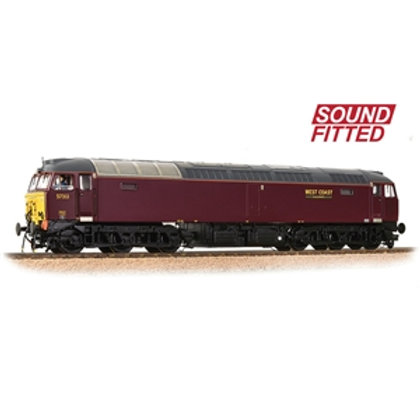 Class 57/3 57313 WCRC Maroon (Sound Fitted)