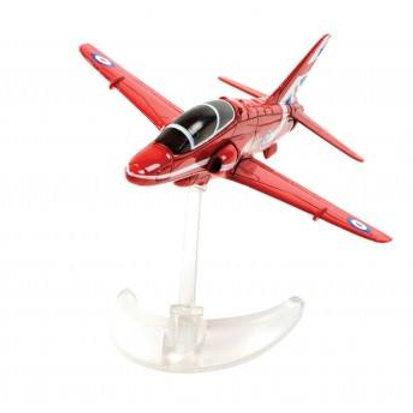Corgi CS90628 Red Arrow Jet with stand
