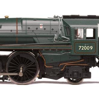 R3996 Hornby Clan Std 6MT 4-6-2 Steam Loco number 72009