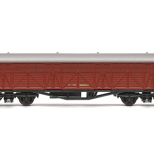 Hornby R6981 ex-GWR Siphon H W1429 in BR crimson