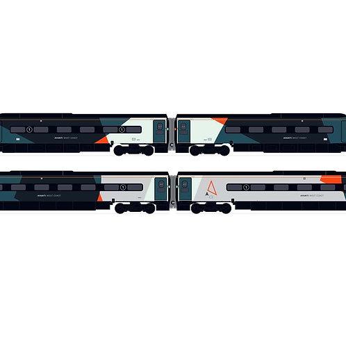 Avanti West Coast, Class 390 Pendolino Train Pack