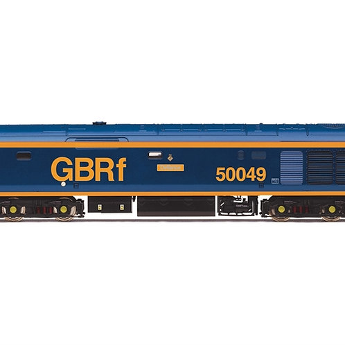 Hornby R3883 Class 50 50049 'Defiance' in GBRf livery