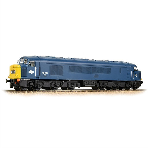Bachmann Branchline 32-701ASF Class 46 'Peak' 46020 in BR blue Sound fitted