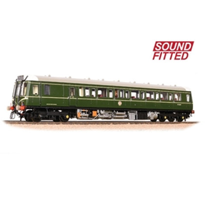 Class 121 Single-Car DMU BR Green (Speed Whiskers) Sound Fitted