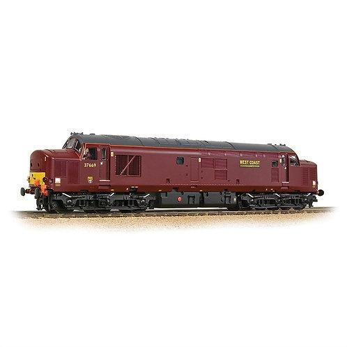 Bachmann Branchline 32-395 Class 37/5 37669 in West Coast Railway Company maroon