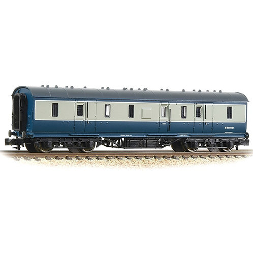 Graham Farish LMS Stanier 50ft Full Brake BR Blue & Grey