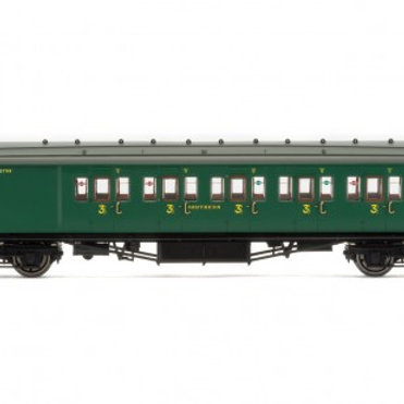 Hornby R4737 SR Maunsell 6 Compartment Brake 3rd Coach 3798