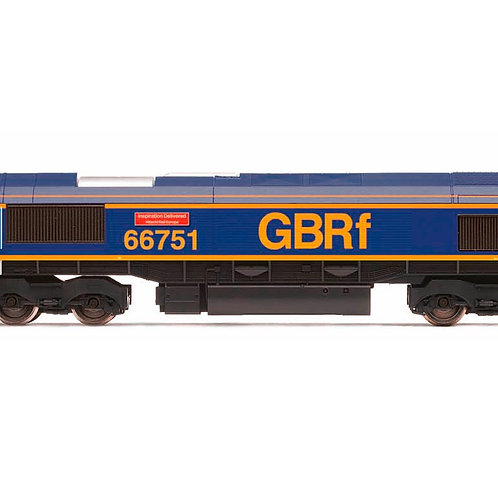 """Hornby R3573 Class 66 GBRf 66751 """"Inspiration Delivered"""""""