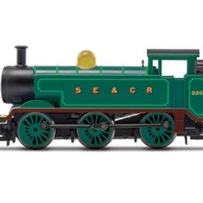 Hornby R30039 Class E2 0-6-0T 326 in SE&CR green - Due Jul-21