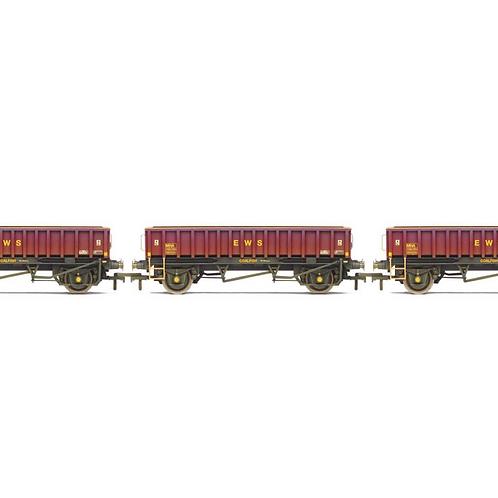 Hornby R6928 MHA Coalfish Ballast Wagon EWS 3 Pack