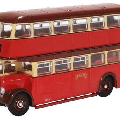 Oxford Diecast 76PD2007 Leyland PD2/12 - Barton Transport