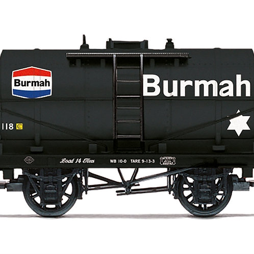 Hornby R6954 14 ton tank wagon Burmah No. 118