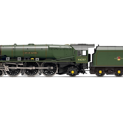 Hornby R3856 Class 8P Princess Coronation 4-6-2 'City of Salford' in BR green
