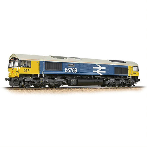 Bachmann 32-740SF Class 66/7 66789 GBRF BR Blue (Sound Fitted)