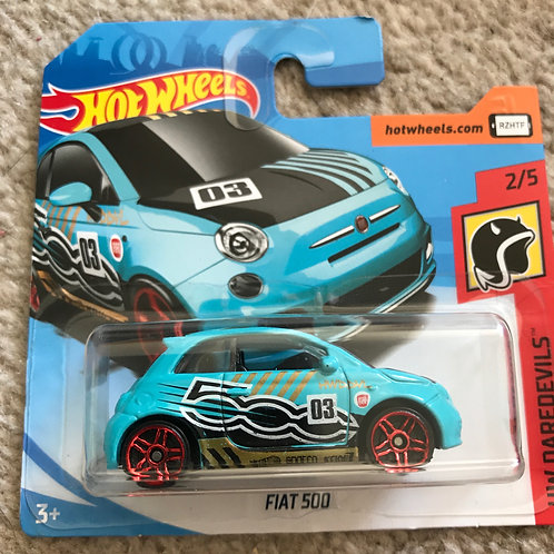 Hot Wheels Daredevils Fiat 500