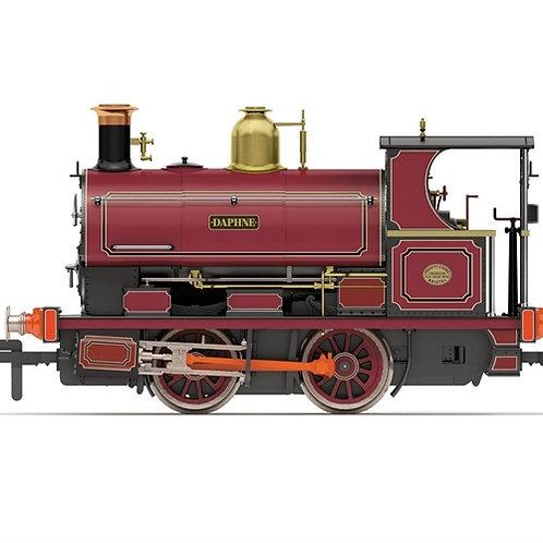"Hornby R3702 Class W4 Peckett 0-4-0ST ""Daphne"" in Tytherington Stone Co. purple"