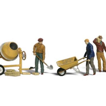 00 Gauge Figures Masonry Workers