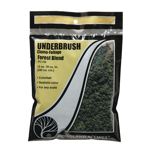 Woodland Scenics FC139 Underbrush Forest Blend