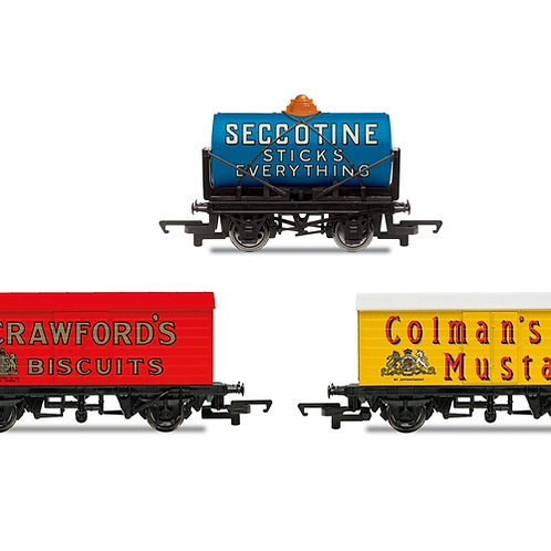 Hornby R6990 Triple pack of Hornby Retro wagons