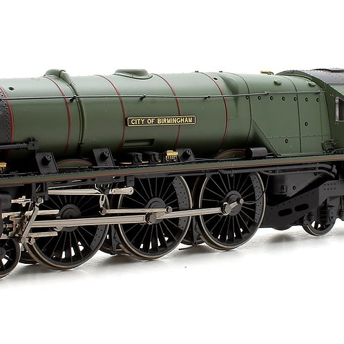 "Hornby R3509TTS BR Princess Coronation Class ""City of Birmingham"" with TTS Sound"