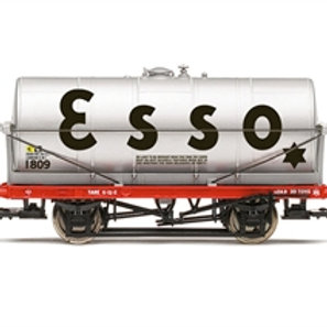 Hornby R60037 20 ton tank wagon 1809 in Esso silver - Due Sep-21