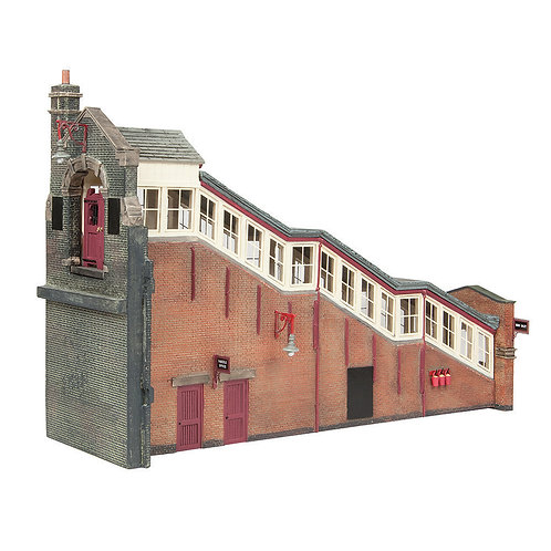 Bachmann 44-119C Great Central High Level Station Entrance Maroon and Cream