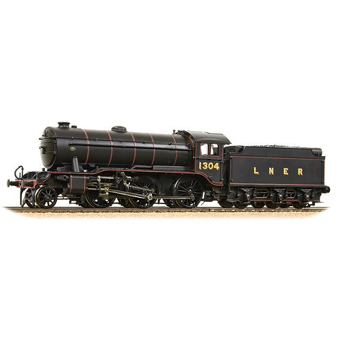 Bachmann 32-281 K3 Class 61862 BR Lined Black (Early Crest)