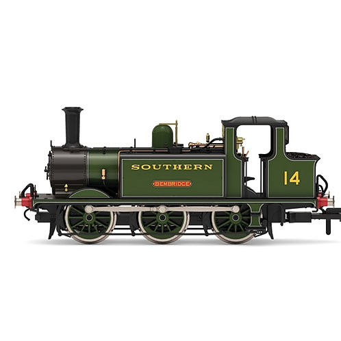 Hornby R3847 Class A1X Terrier 0-6-0T 14 'Bembridge' in SR olive green