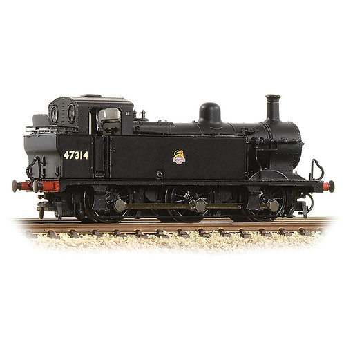 Graham Farish 372-211A Class 3F Jinty 0-6-0T 47314 in BR black with early emblem