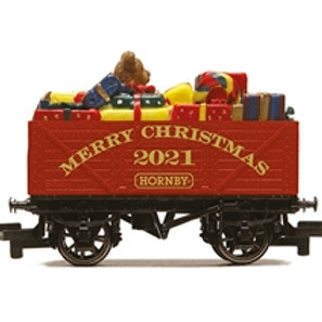 Hornby R60015 2021 Merry Christmas gift open wagon. Due Jul-21